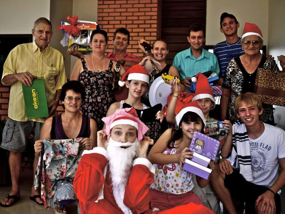 Fotos De Navidad En Brasil.Entre Asados Y Amigos Secretos Asi Pasamos La Navidad En